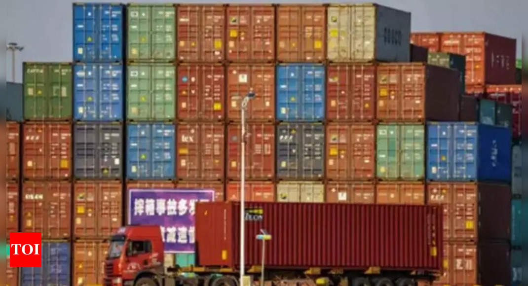 India-China trade on course to touch record 0 billion-mark – Times of India