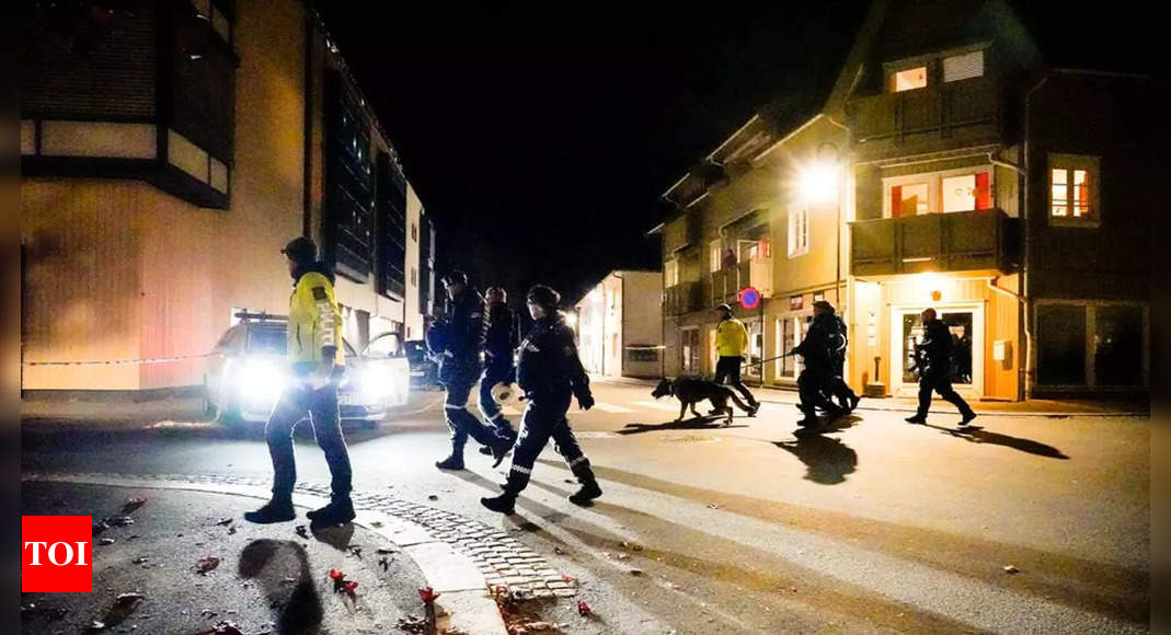 norway:  Man armed with bow and arrow kills five people in Norway attacks, police say – Times of India