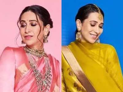 Karisma Kapoor's ethnic looks for Dussehra
