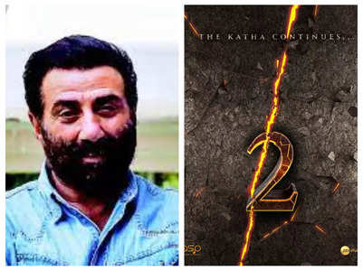 Sunny Deol teases fans with Gadar 2 poster