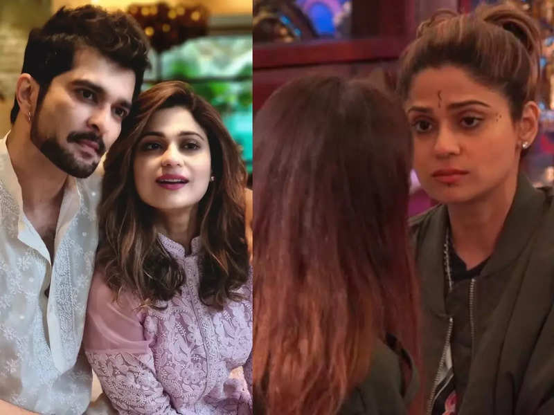 Bigg Boss 15: Raqesh Bapat praises lady love Shamita Shetty for giving her shoes to Miesha Iyer after she learns her parents are no more