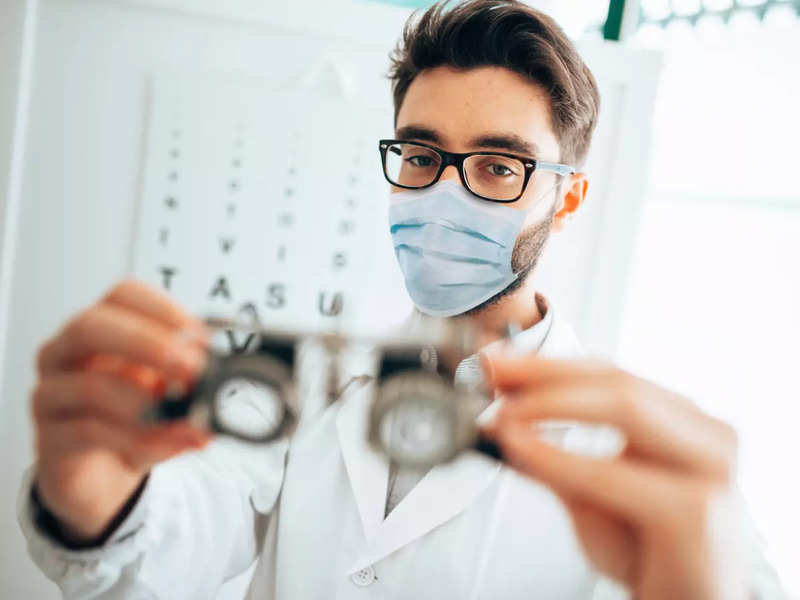 A leading eye doctor shares a vision test on World Sight Day