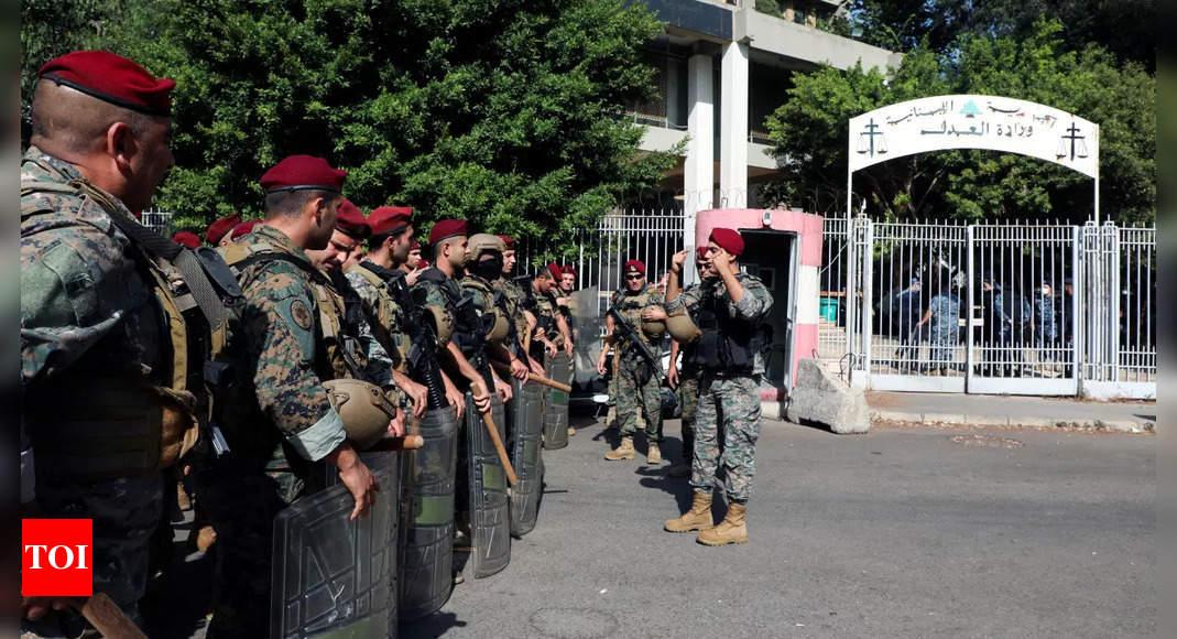 'Gunfire heard near site of Beirut protest' thumbnail