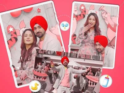 Diljit & Shehnaaz's song 'Saroor' is out