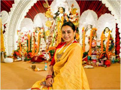 Rani shares her fondest Durga Puja memories