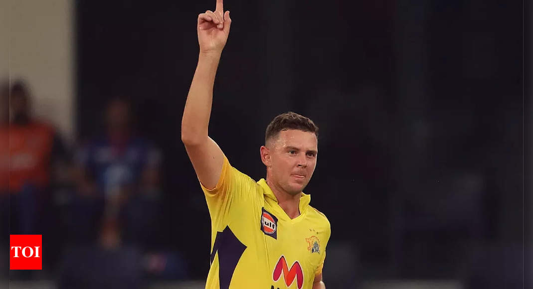 Watson says Hazlewood hard bowler to face due to his 'control over ball', compares him with McGrath | Cricket News – Times of India