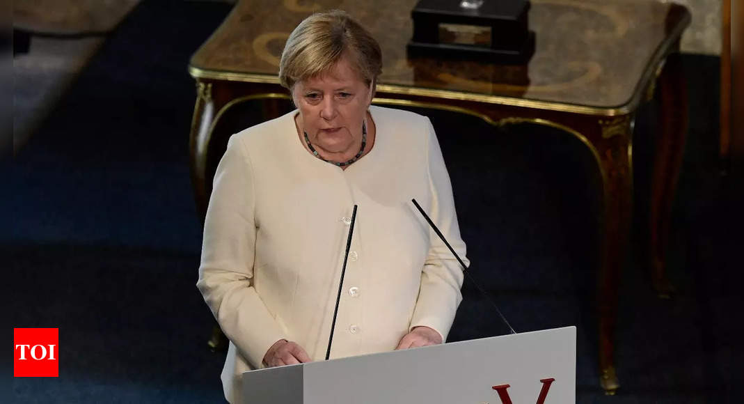 Angela Merkel says Europe can deal with rise of China if it speaks with one voice – Times of India