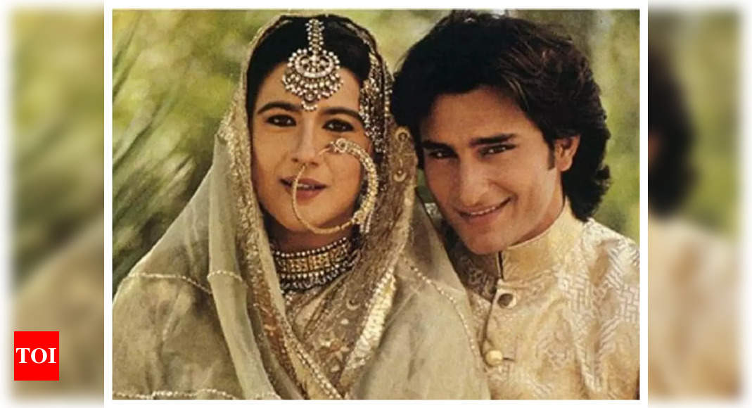 Throwback! When Saif Ali Khan's ex-wife Amrita Singh had said she didn't want to hamper the actor's budding career by having kids – Times of India -India News Cart