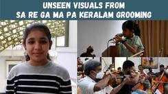 Here's a sneak peek into Sa Re Ga Ma Pa Keralam Li'l Champs grooming session