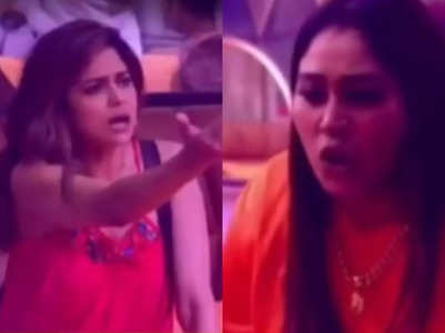 BB 15: Afsana and Shamita's physical fight