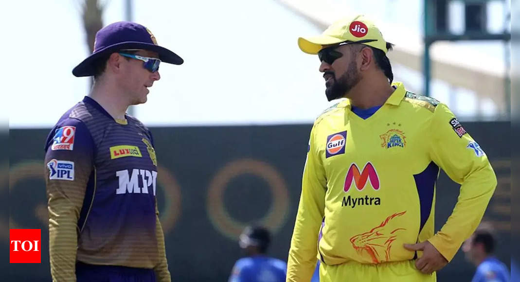 IPL 2021 Final: Class is permanent with someone like MS Dhoni, Eoin Morgan might just be struggling a bit, feels Dale Steyn | Cricket News – Times of India