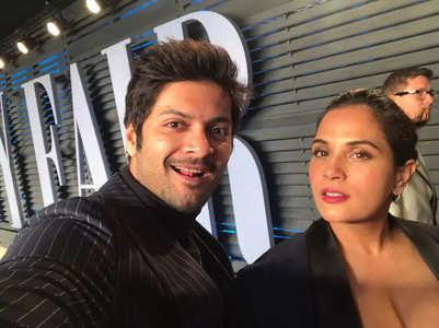 Richa surprises beau Ali Fazal on his b'day