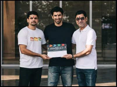 Aditya Roy Kapur begins filming Thadam remake
