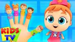Nursery Rhymes in English: Children Video Song in English 'The Finger Family'