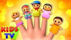 Nursery Rhymes in English: Children Video Song in English 'Daddy Finger - The Finger Family'