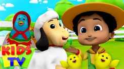 Nursery Rhymes in English: Children Video Song in English 'Old Macdonald Had A Farm'