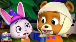English Nursery Rhymes: Kids Video Song in English 'Five Little Pumpkins'