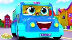 English Nursery Rhymes: Kids Video Song in English 'The Wheels On The Bus'