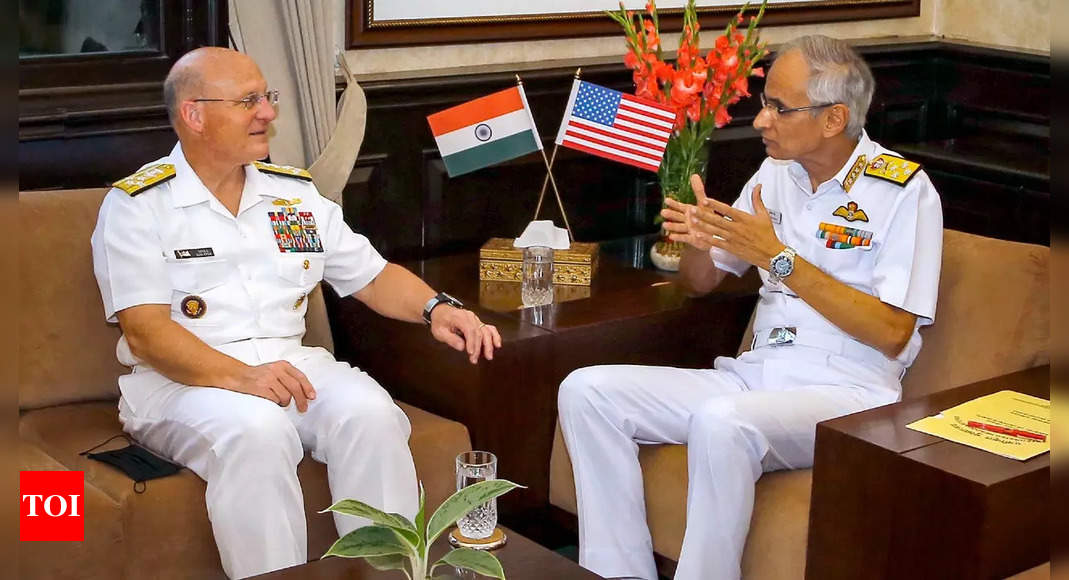 India-US naval relationship unwavering: Chief of US Naval Operations