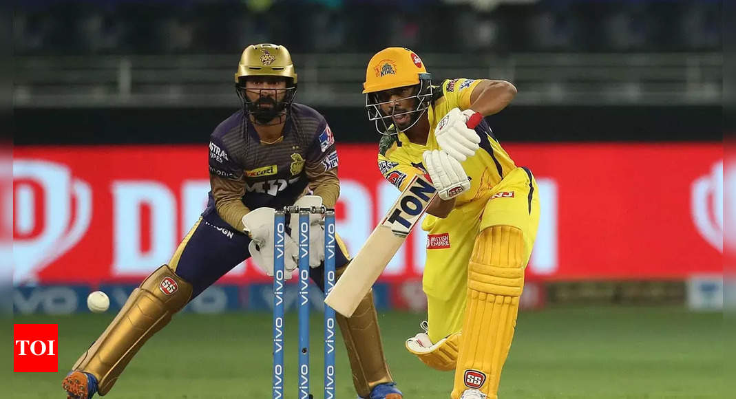 IPL 2021: Ruturaj Gaikwad wins Orange Cap, Harshal Patel takes Purple | Cricket News – Times of India