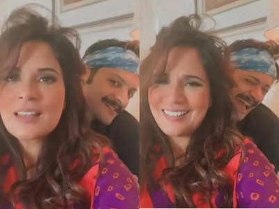 Richa Chadha's adorable video with Ali Fazal