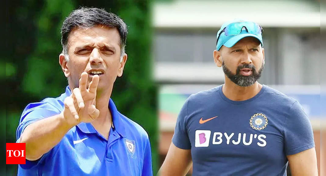 Rahul Dravid appointed Team India head coach, Paras Mhambrey bowling coach till 2023 | Cricket News – Times of India
