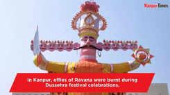 Burning of Ravana effigies mark victory of good over evil