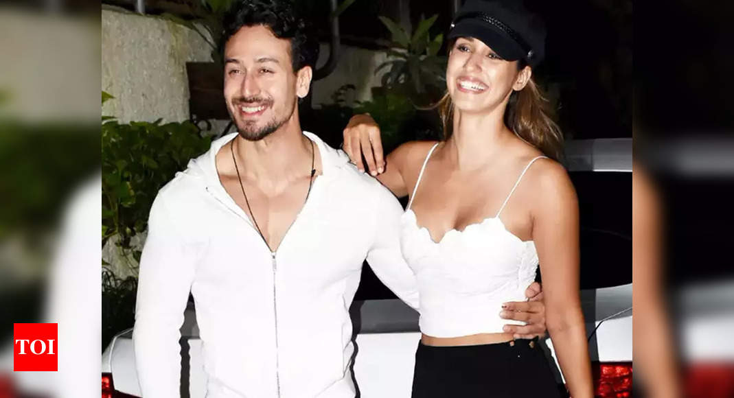 Disha Patani gives a 'no makeup' makeover to Tiger Shroff, check it out before it gets deleted! – Times of India