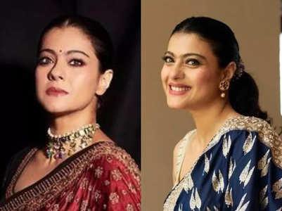 Kajol's sari collection is perfect for Karwa Chauth