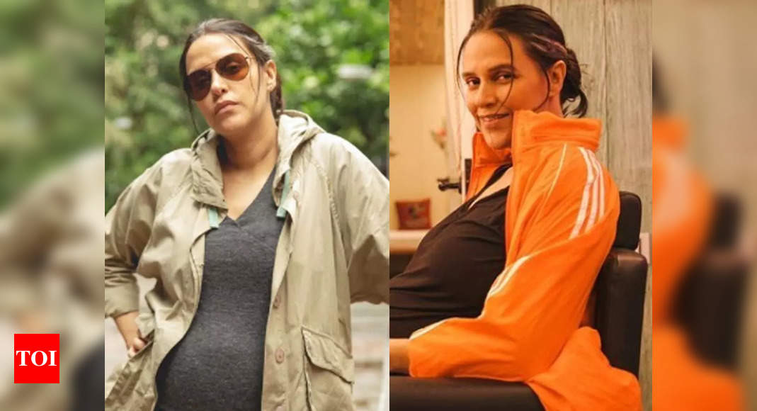 Neha Dhupia talks about her second child and body positivity – Exclusive – Times of India