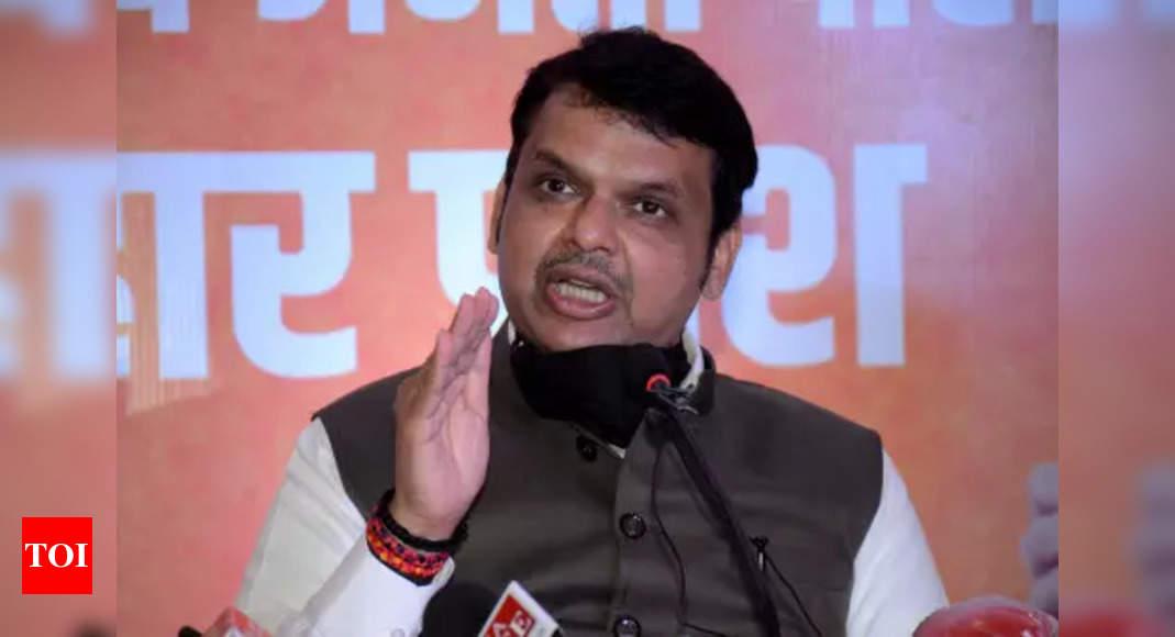 MVA govt most corrupt in Maharashtra history: Fadnavis