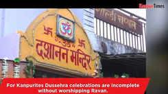 Ravan gets worshipped in Kanpur