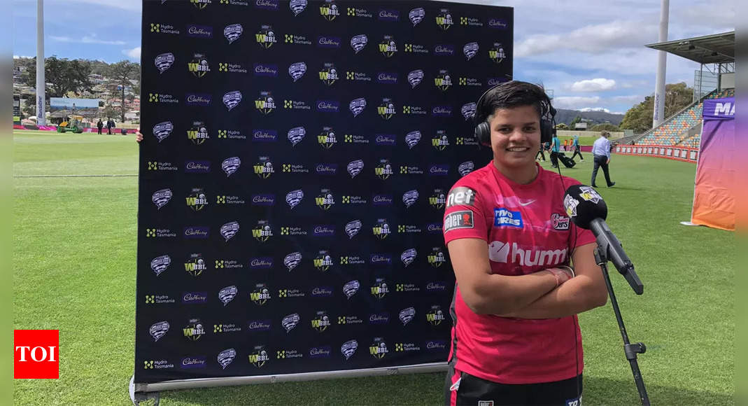 Shafali Verma, Radha Yadav shine in Sydney Sixers win in WBBL   Cricket News – Times of India