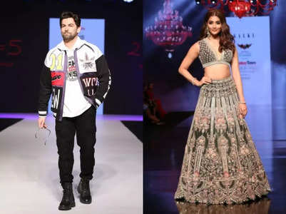 Neil Nitin and Pooja Hegde sizzle on the ramp
