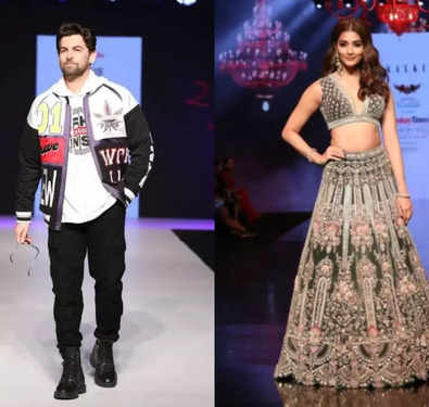 Neil Nitin Mukesh and Pooja Hegde sizzle on the ramp at BTFW