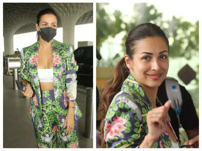 Pics: Malaika Arora stuns in a floral outfit