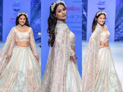 Hina Khan dazzles in a lehenga at BTFW