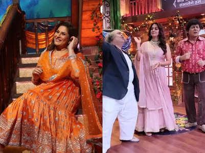 Archana tells Sudesh to do not dance