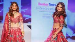 Bombay Times Fashion Week 2021: Arti Singh walks the ramp for Benbaa