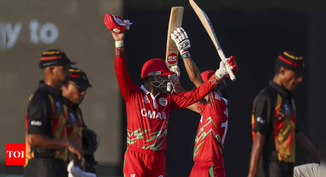 T20 World Cup: Ludhiana-born Jatinder stars in Oman's 10-wicket victory over Papua New Guinea | Cricket News