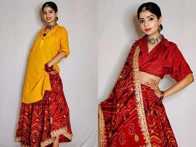5 cool ways to style a sari this Karwa Chauth