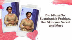 Dia Mirza on sustainable fashion, her skincare secret and more