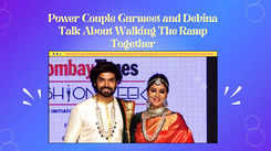 Power couple Gurmeet and Debina talk about walking the ramp together