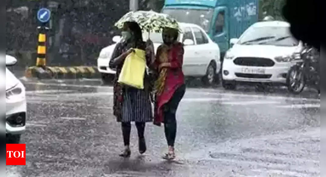 Rains till October 21 due to low pressure systems: IMD