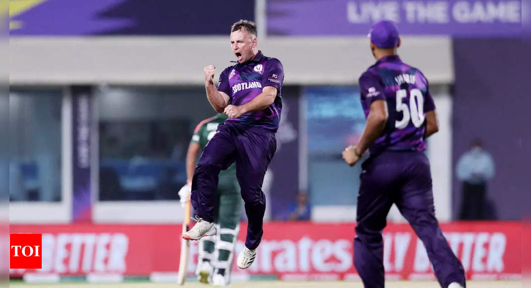Chris Greaves: From Amazon driver to T20 WC star