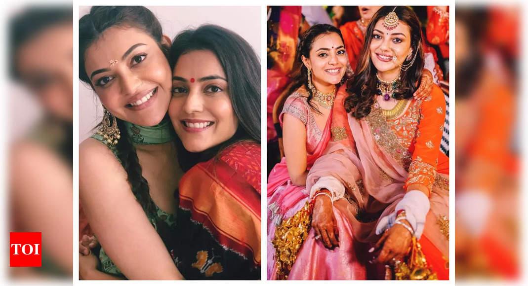 Kajal shares sweet b'day post for her sister