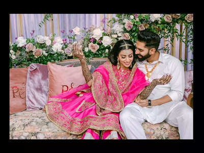 Pic: Parmish Verma-Geet Grewal's mehndi