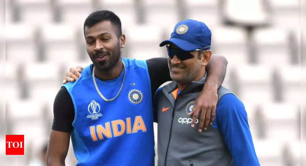 Dhoni is life coach and brother, says Hardik Pandya