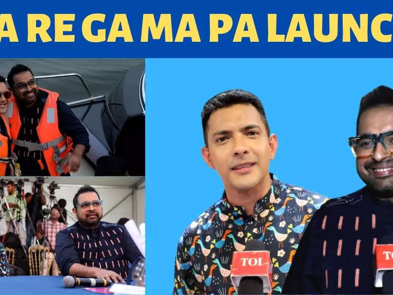 Sa Re Ga Ma Pa launch: Aditya Narayan and Shankar Mahadevan promise to entertain the viewers
