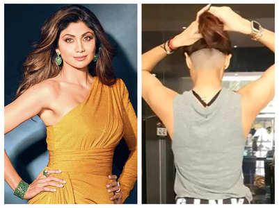 Watch: Shilpa Shetty gets an undercut
